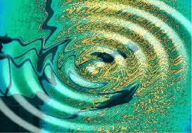 every word you say is important and creates a ripple effect.  picture of water rippling